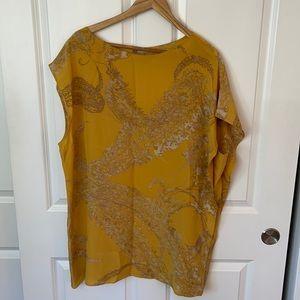 Silk Designer Tunic Blouse